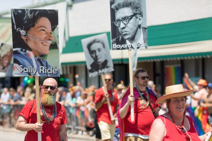 LGBTQ Pride Parade in Chicago