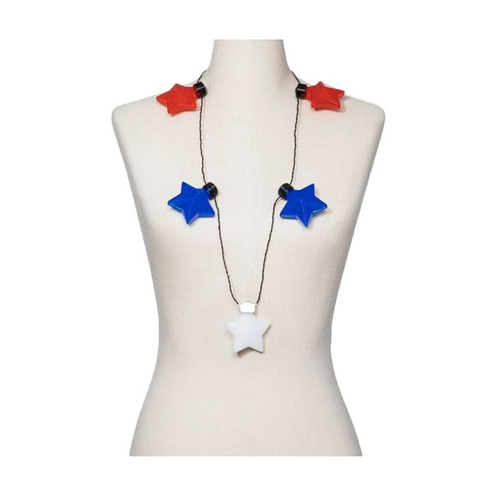 Light Up Star Station Necklace