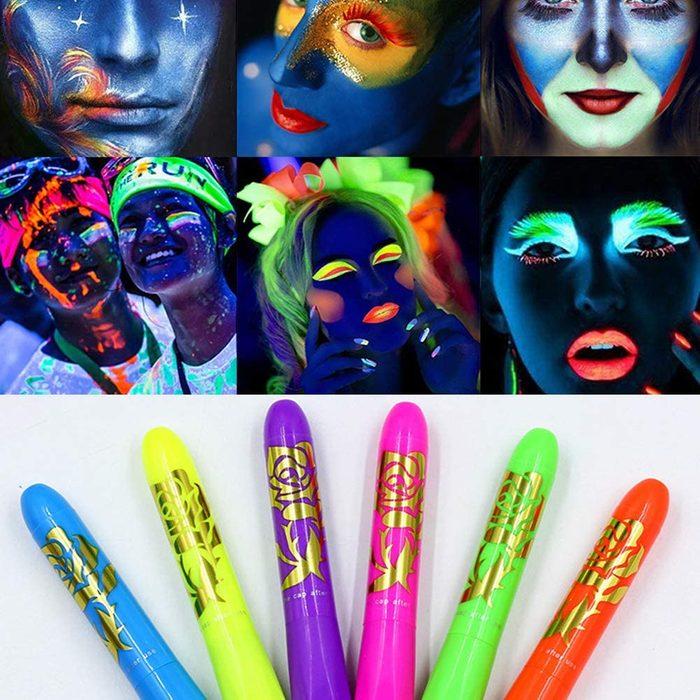 Luminous Face Paint Crayons