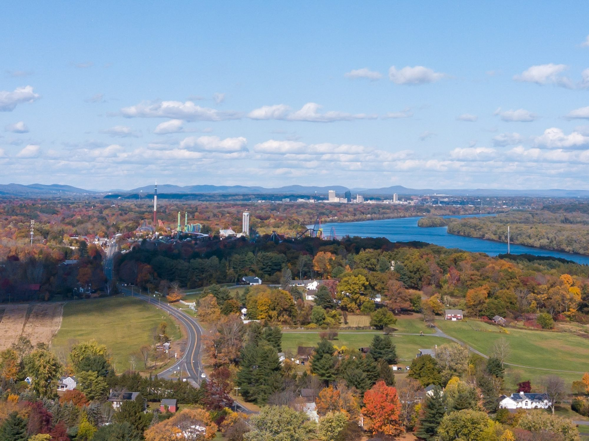 view of springfield mass.