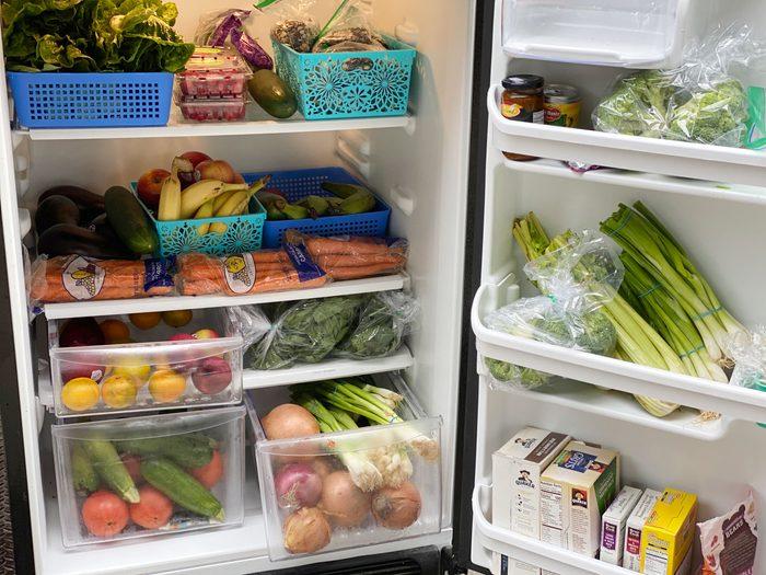 friendly fridge open