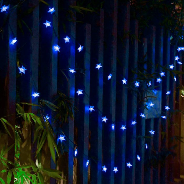Outdoor Led Star String Lights