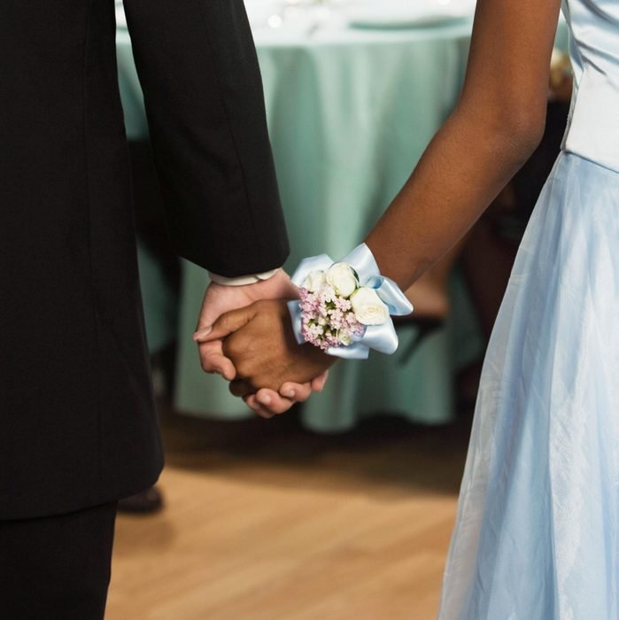 African couple holding hands