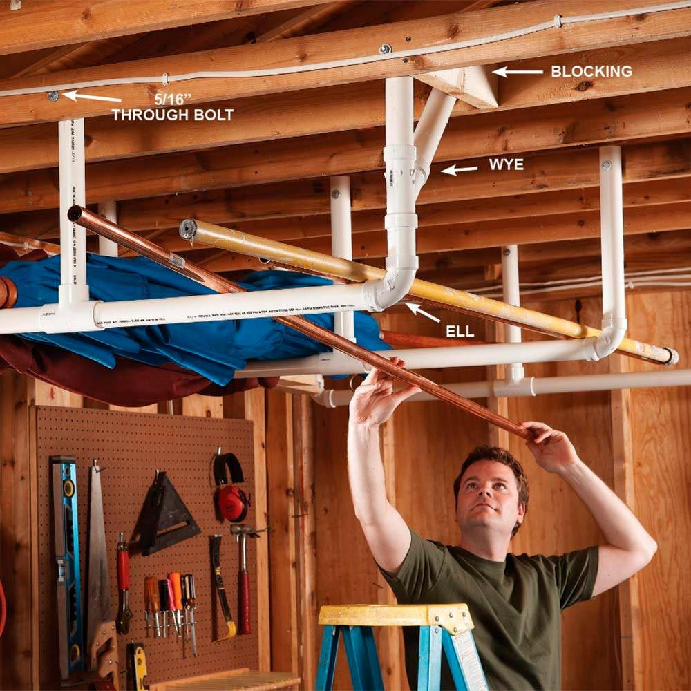 Overhead Storage in the Garage