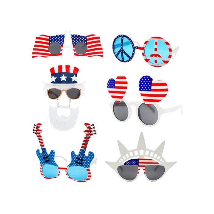 Patriotic Party Sunglass Assortment