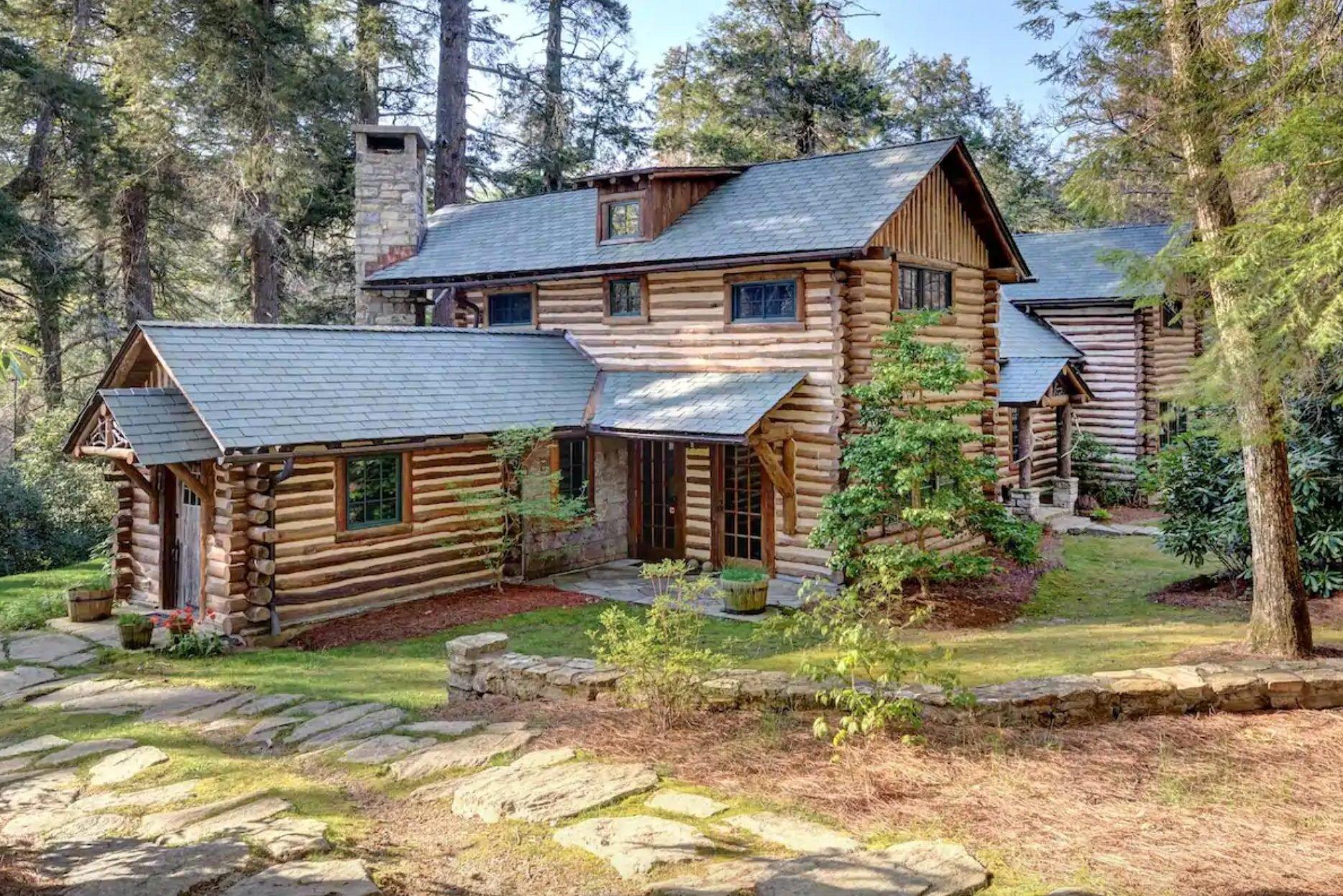 Big Billy Cabin, in Highlands, North Carolina