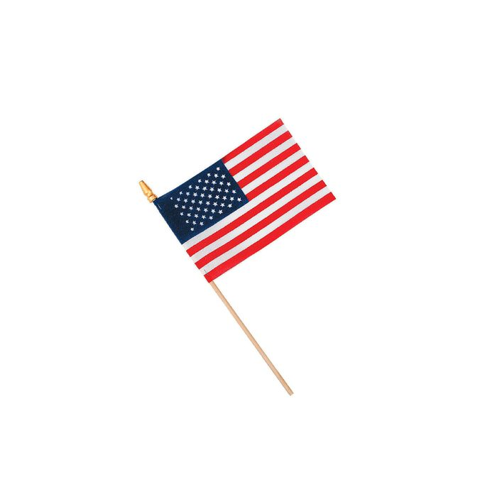 Small Cloth American Flags