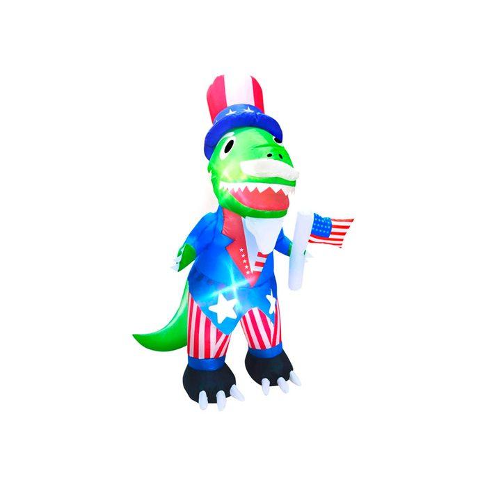 Uncle Sam Inflatable Dinosaur
