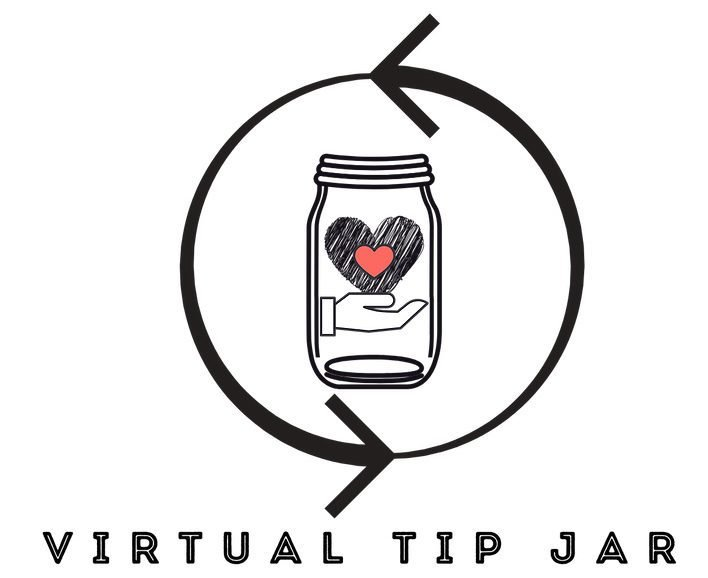 virtual tip jar logo