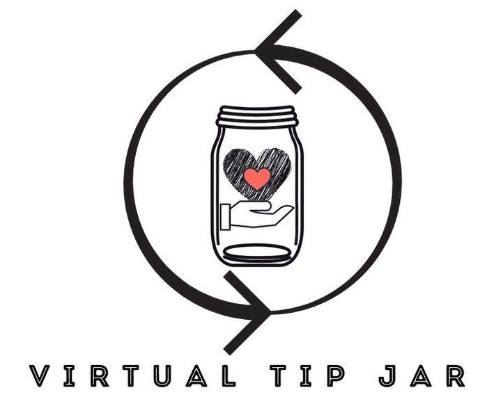 virtual tip jar logo