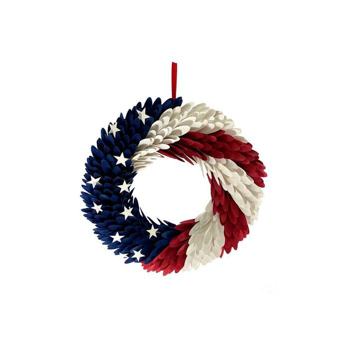 Wood Curl Wreath