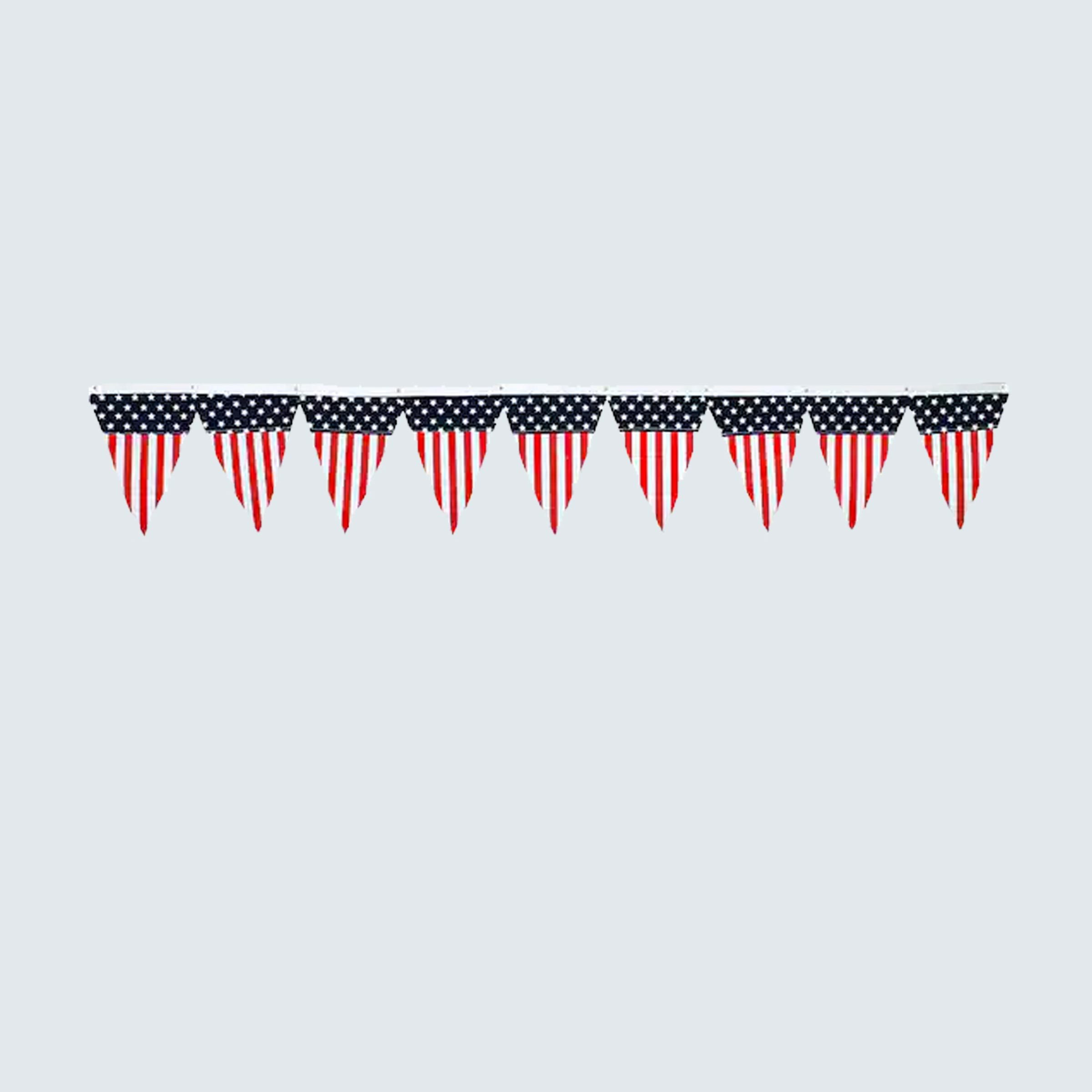 Ashland Red, White & Blue Stars & Stripes Pennant