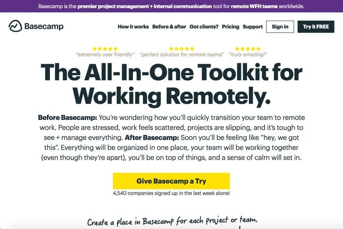 basecamp personal trainer