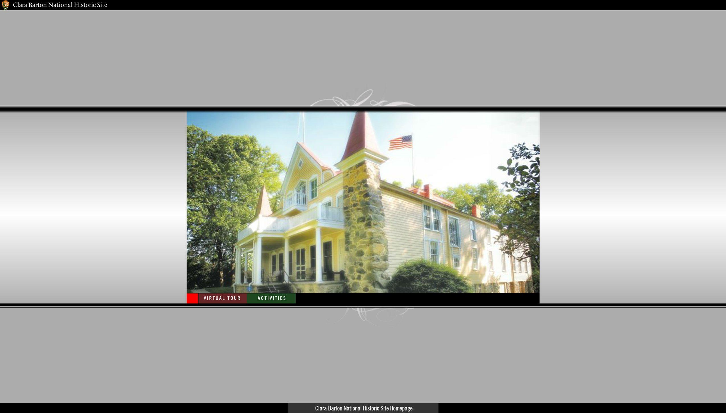 clara barton national historic site virtual tour
