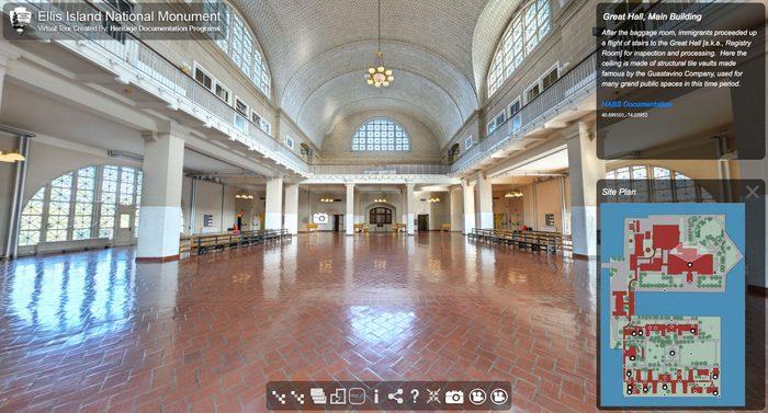 ellis island virtual tour