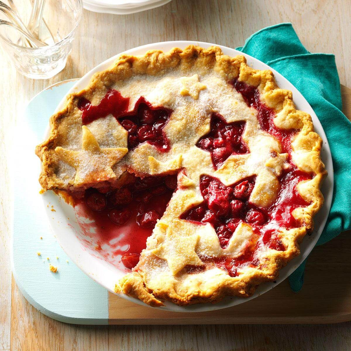 How to Make Cherry Pie from Scratch