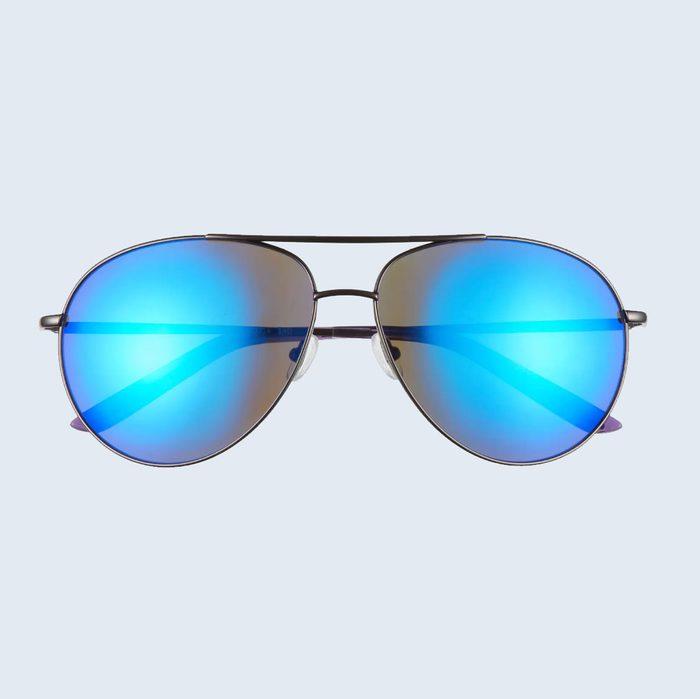 Nike Chance Mirrored Aviator Sunglasses