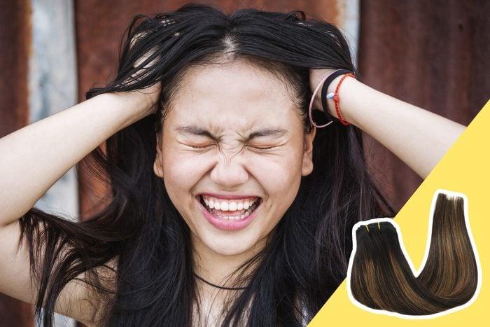 stuck in a hair rut