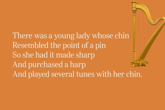Harp limerick for clever people