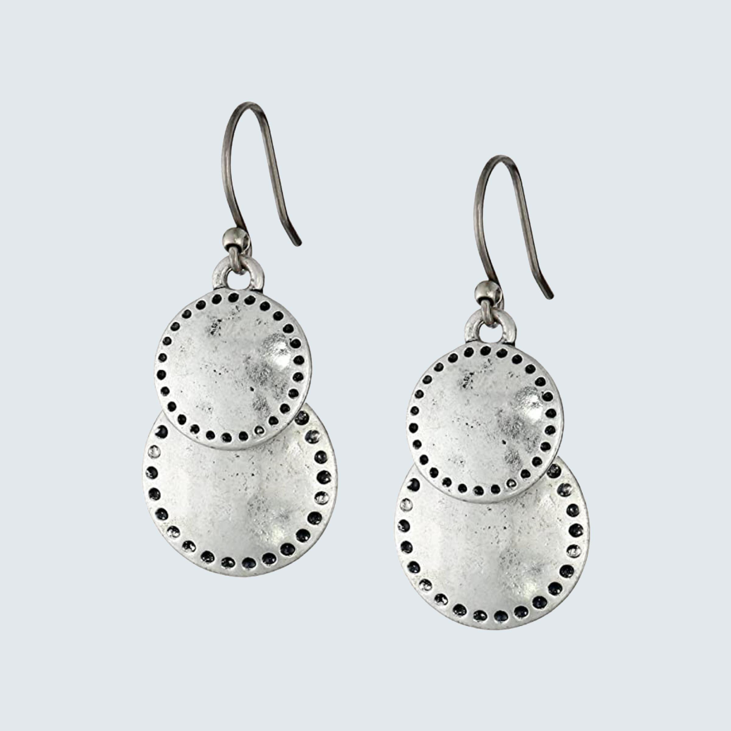 Lucky Brand Women's Double Drop Earrings