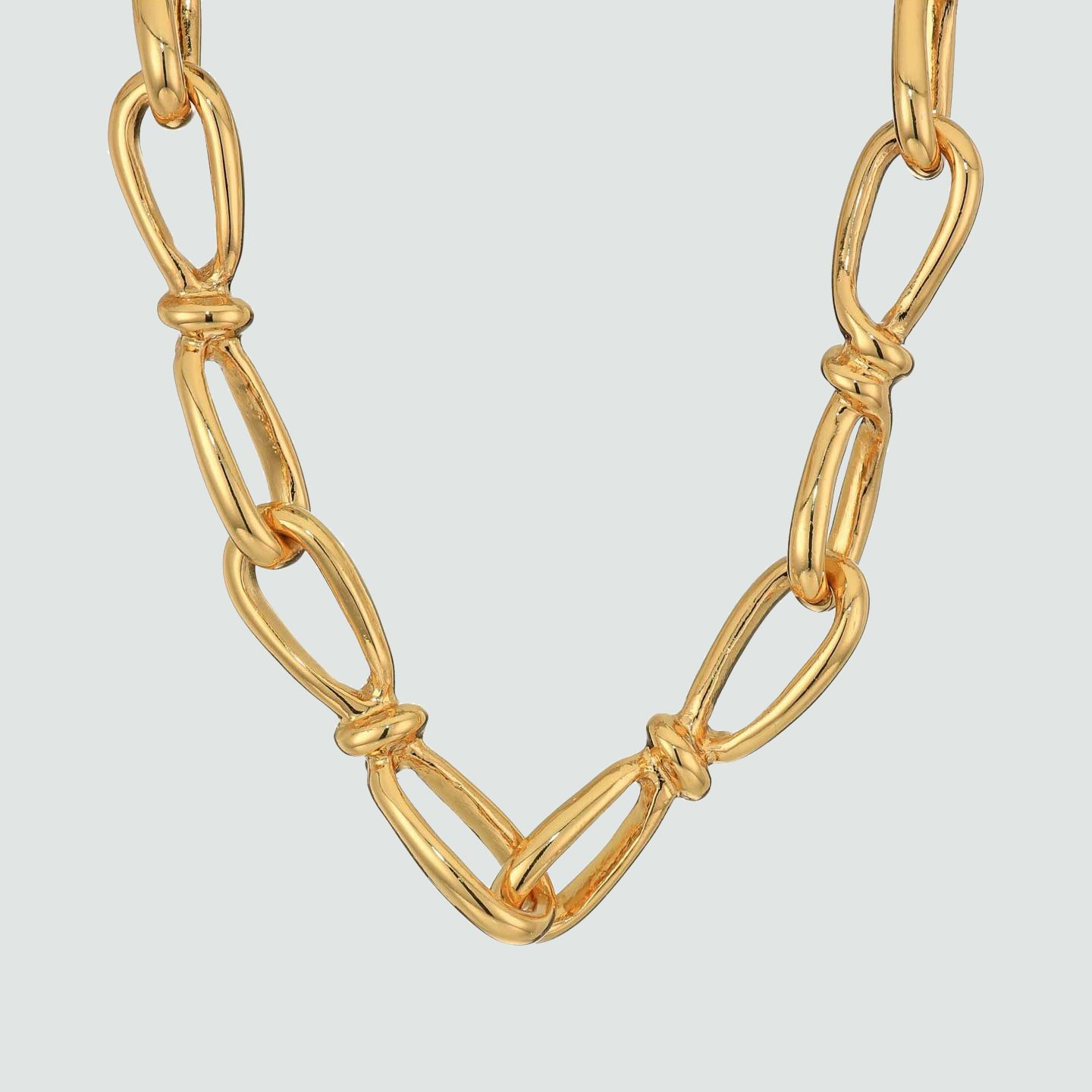 Gold-tone chains
