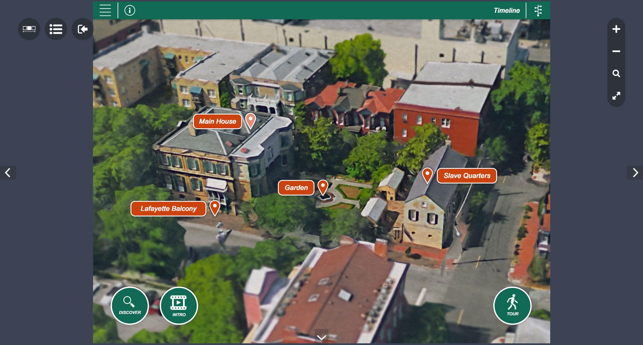 owens-thomas house and slave quarters virtual tour
