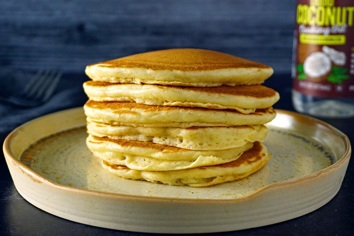 pancake-ingredient-substitutions-butter oil