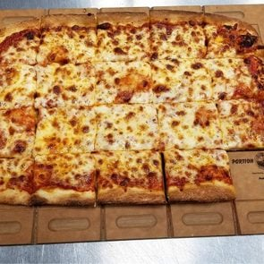Rectangle Portion PadL pizza plate