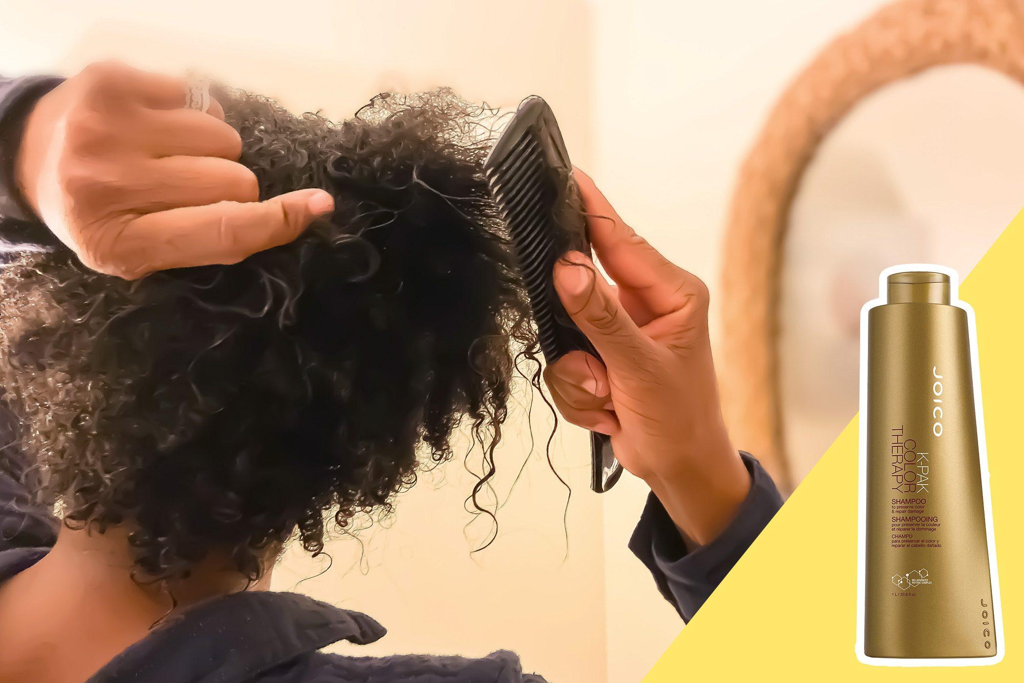 using cheap shampoo
