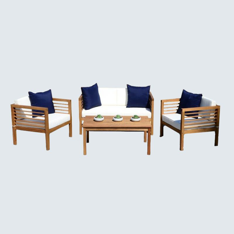 Daytona 4-Piece Sofa Seating Group with Cushions