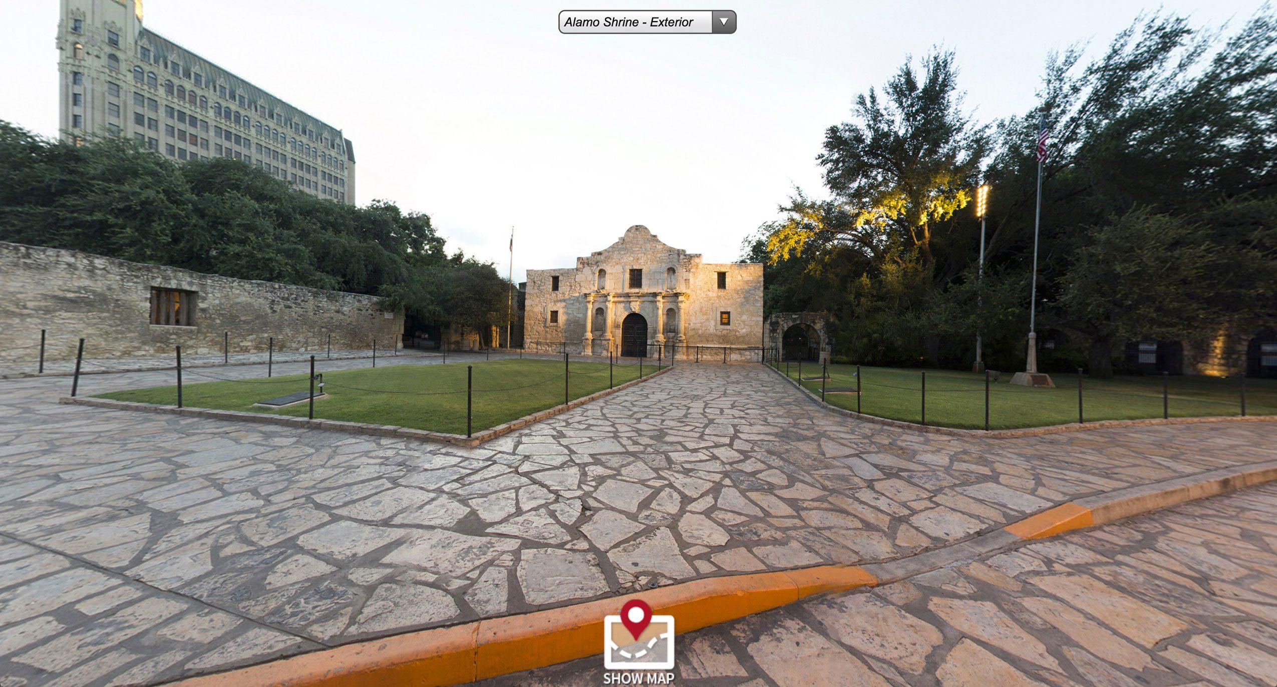 the alamo virtual tour