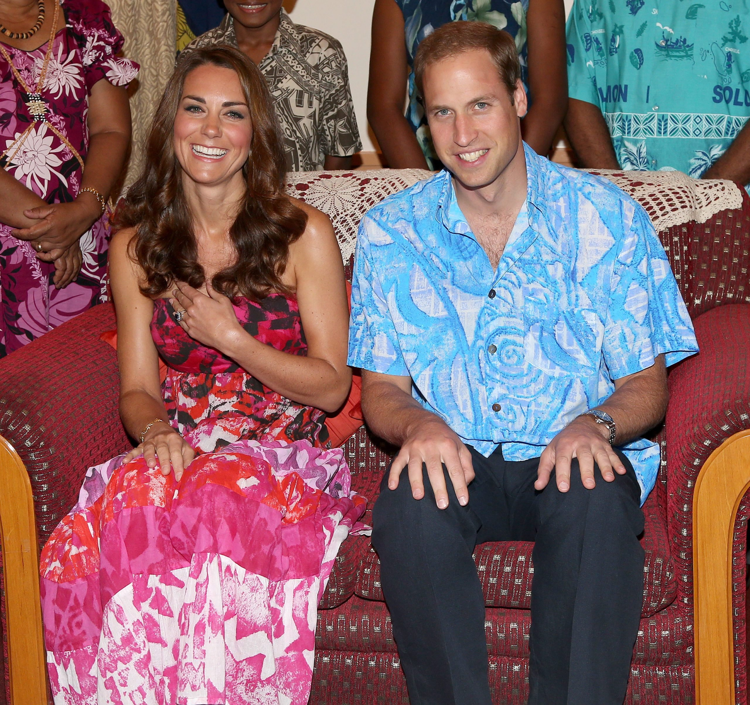 The Duke And Duchess Of Cambridge Diamond Jubilee Tour - Day 6