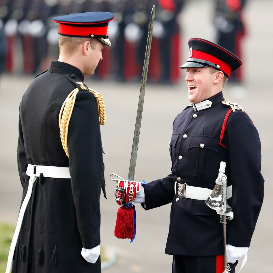 The Duke Of Cambridge Attends The Sovereign's Day Parade