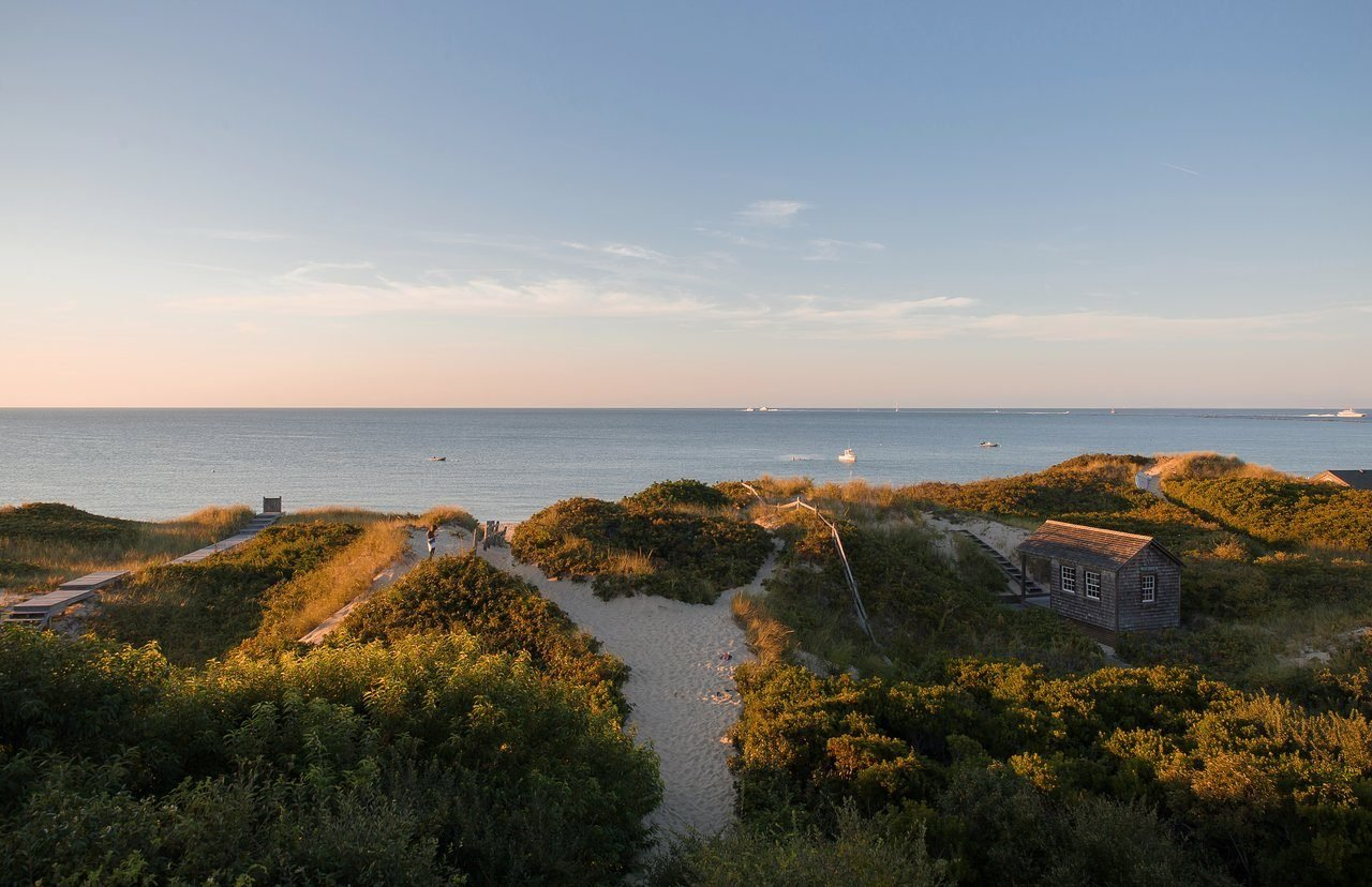 new england beach island