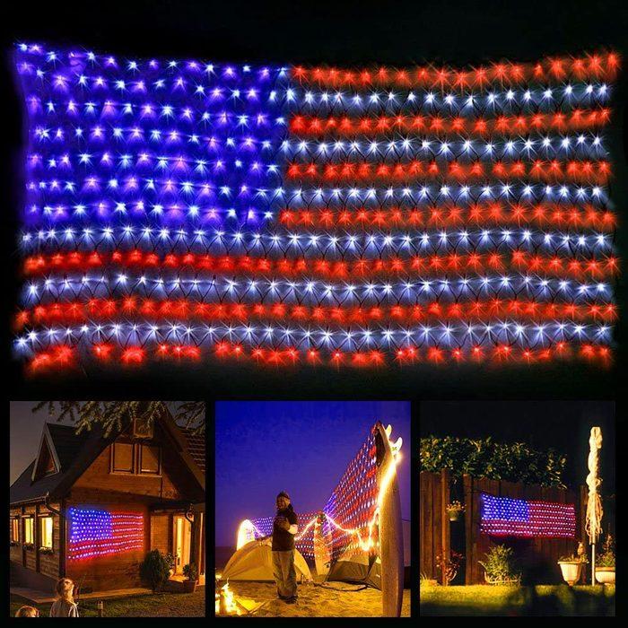Xtf2015 Led Flag Net Lights