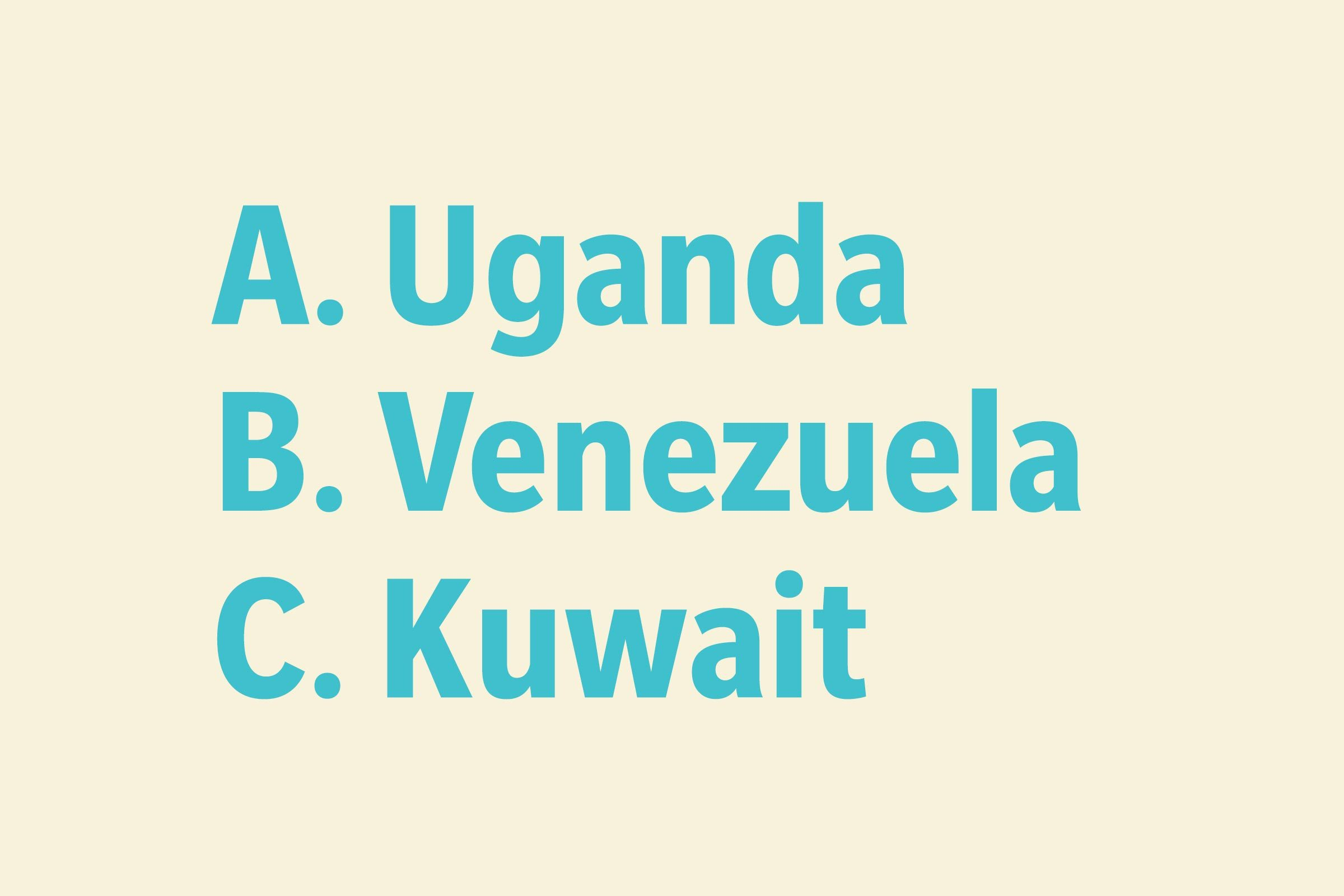 Kampala is the capital of which country?