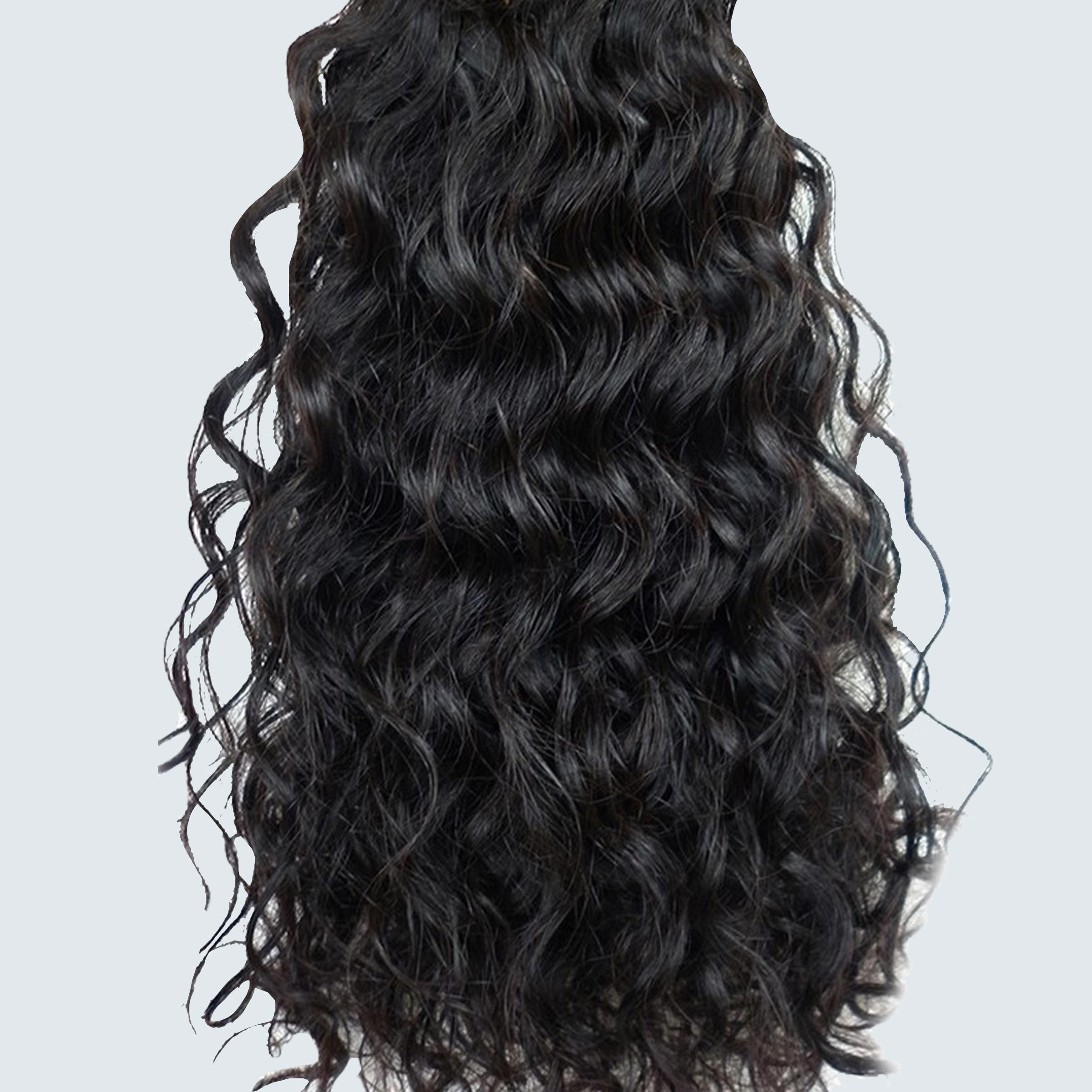 True Indian Hair Deep Curly Hair Extensions