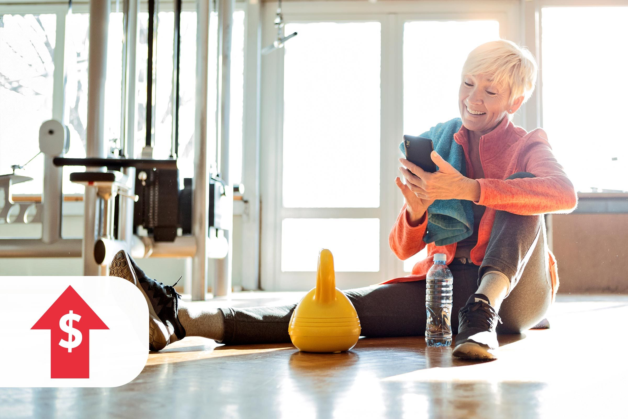 More expensive: home fitness equipment