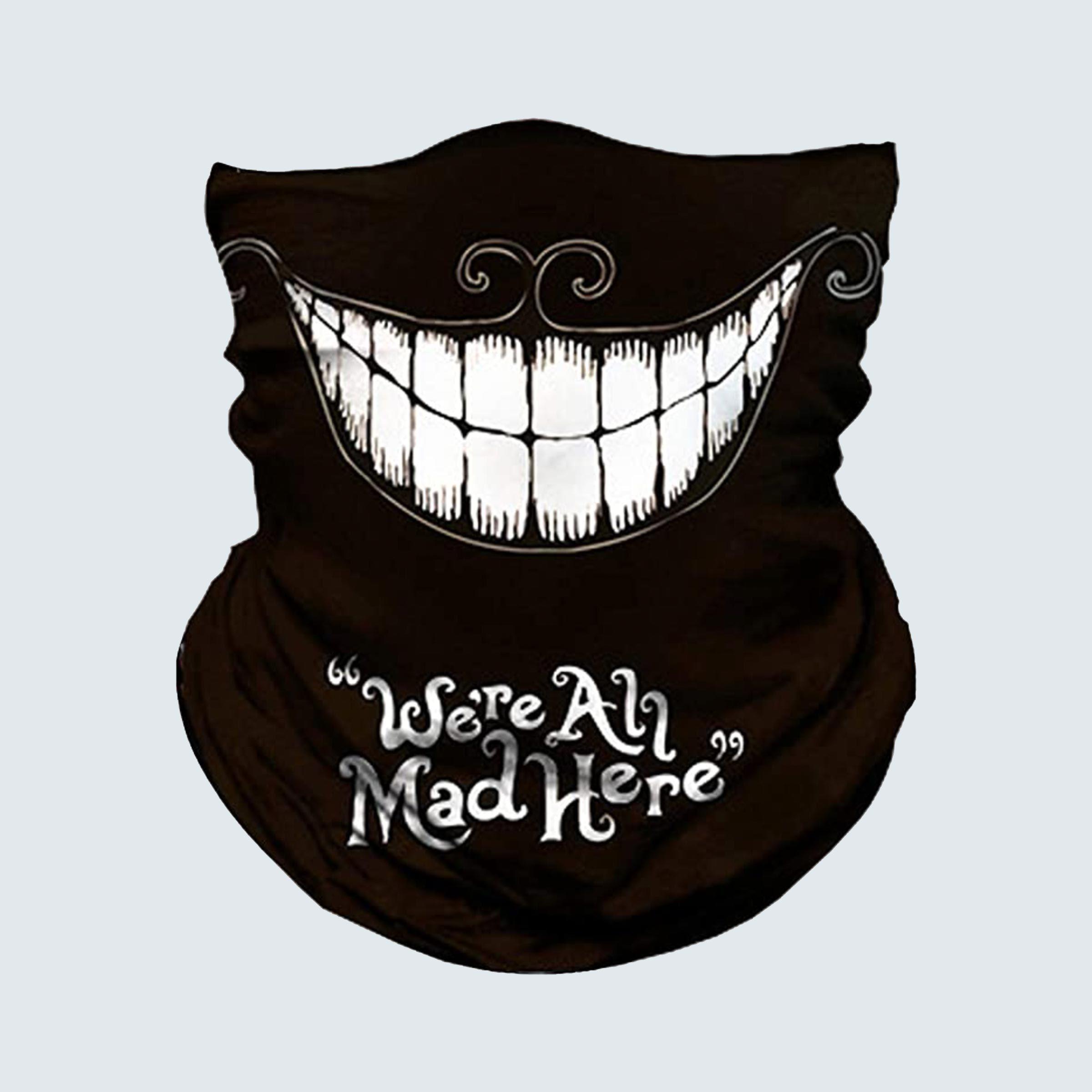 Mad Hatter face mask