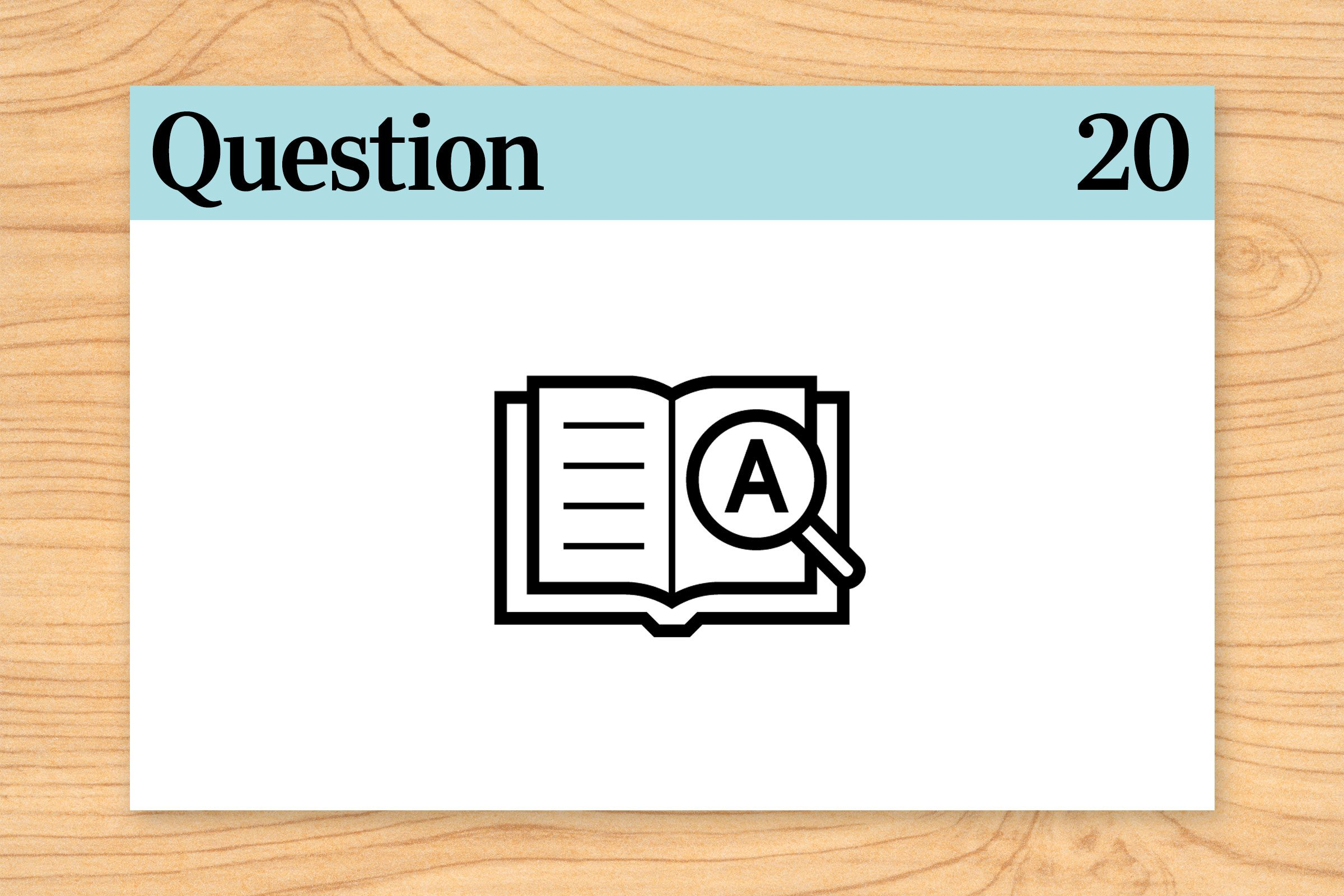 question 20 brain teaser dictionary