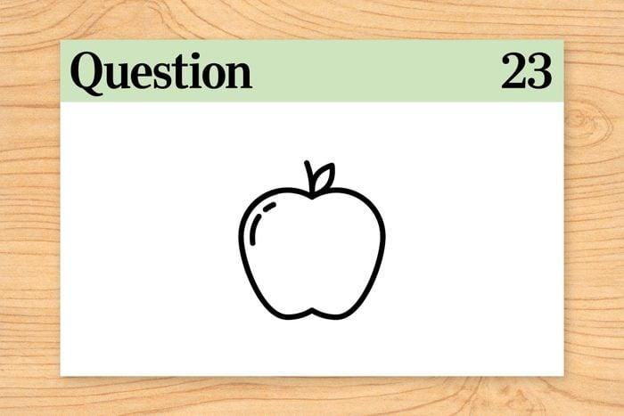 question 23 brain teaser buy but don't eat