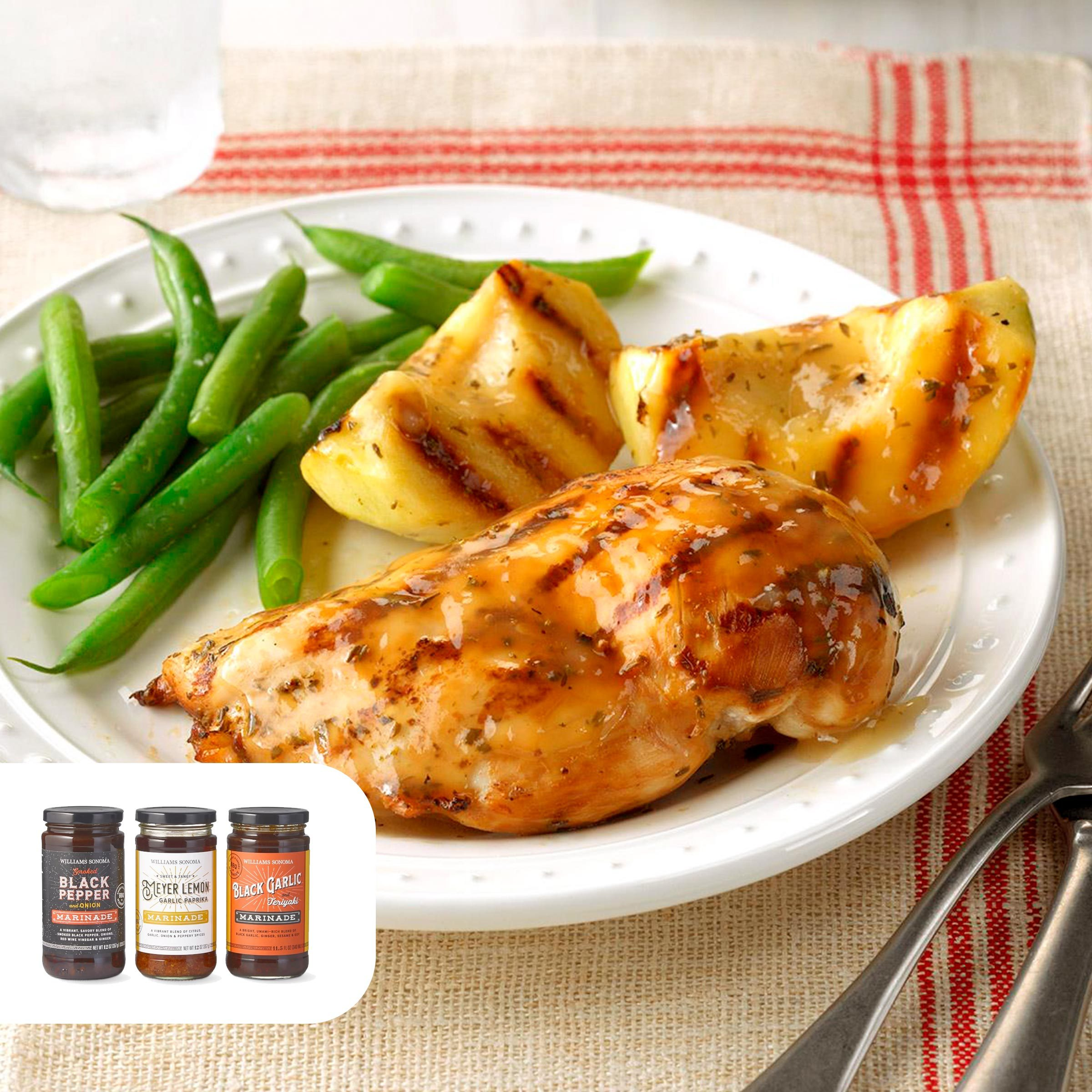 Apple-thyme chicken