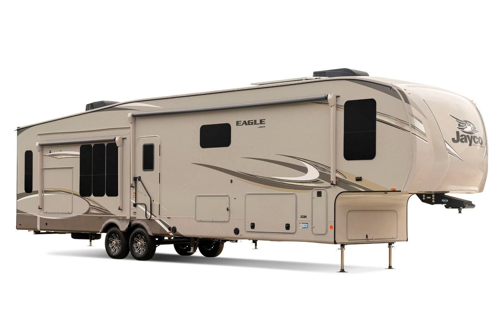 Fifth-wheel travel trailer
