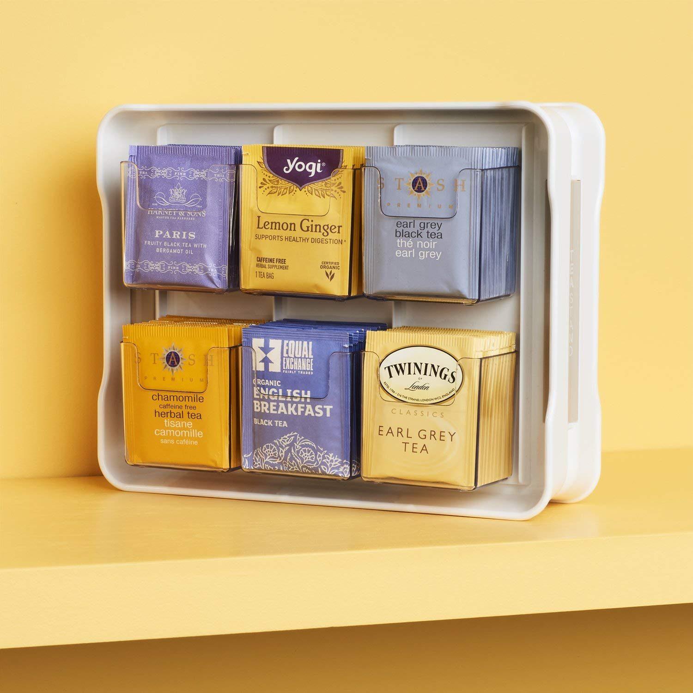 organize tea bags