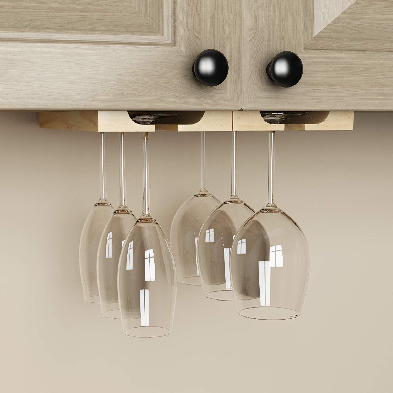 hang wine glasses