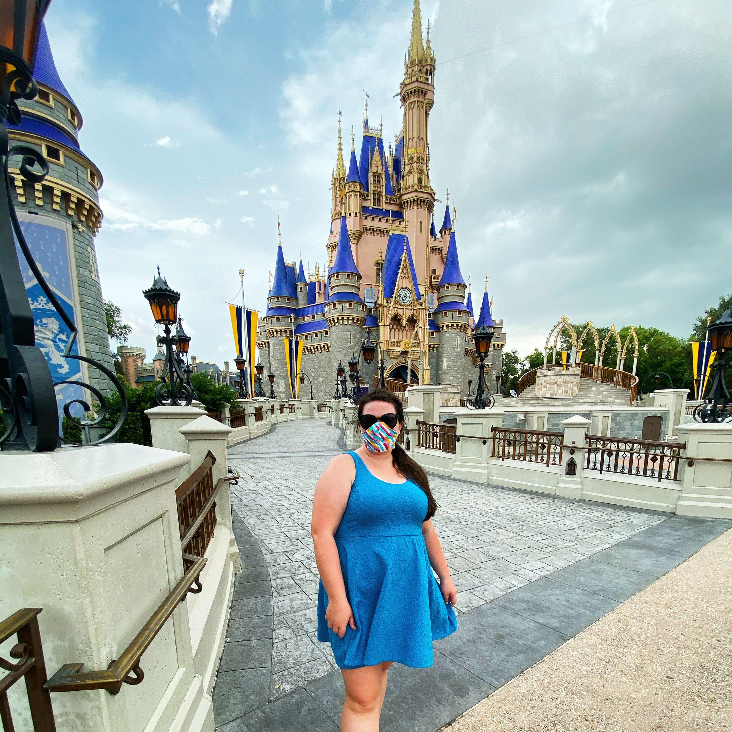 Megan duBois at Disney