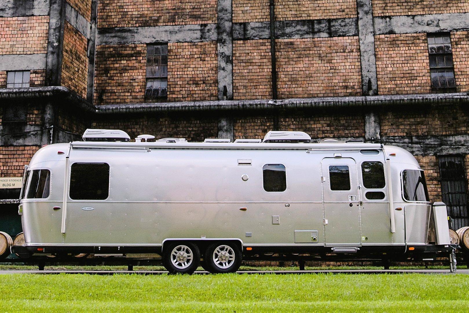 Luxury travel trailer