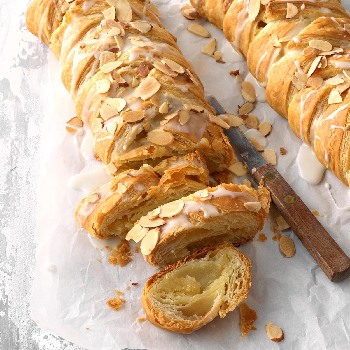 delicious almond braids