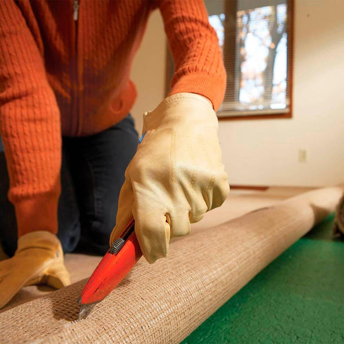 Ditch your carpeting