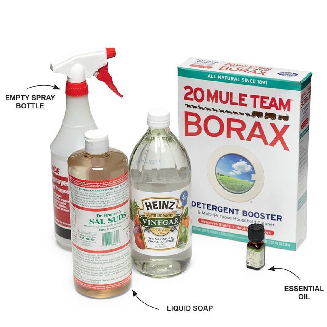 DIY Green Cleaning Solution